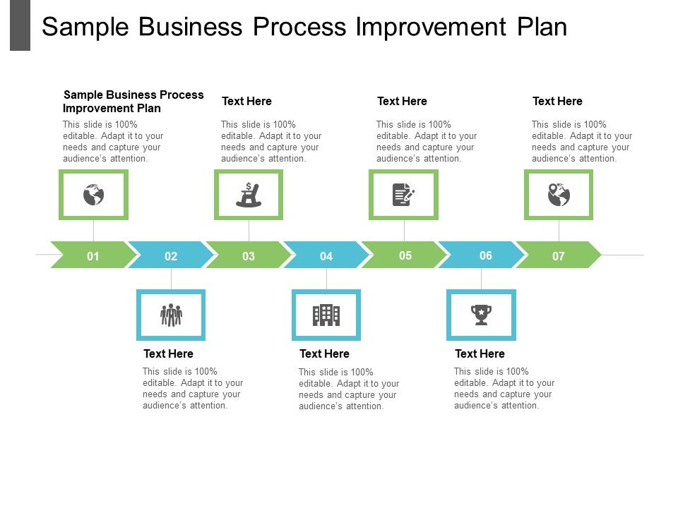 Process improvement powerpoint template and keynote designed for effective presentation of useful information to the audience within a linear sequence. Sample Business Process Improvement Plan Ppt Powerpoint Presentation File Pictures Cpb Powerpoint Templates Download Ppt Background Template Graphics Presentation