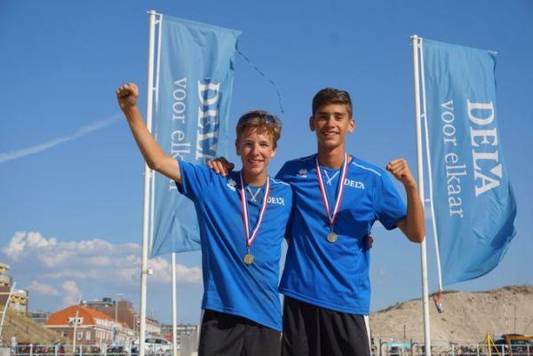 Jari Tournier Nederlands kampioen beach <15