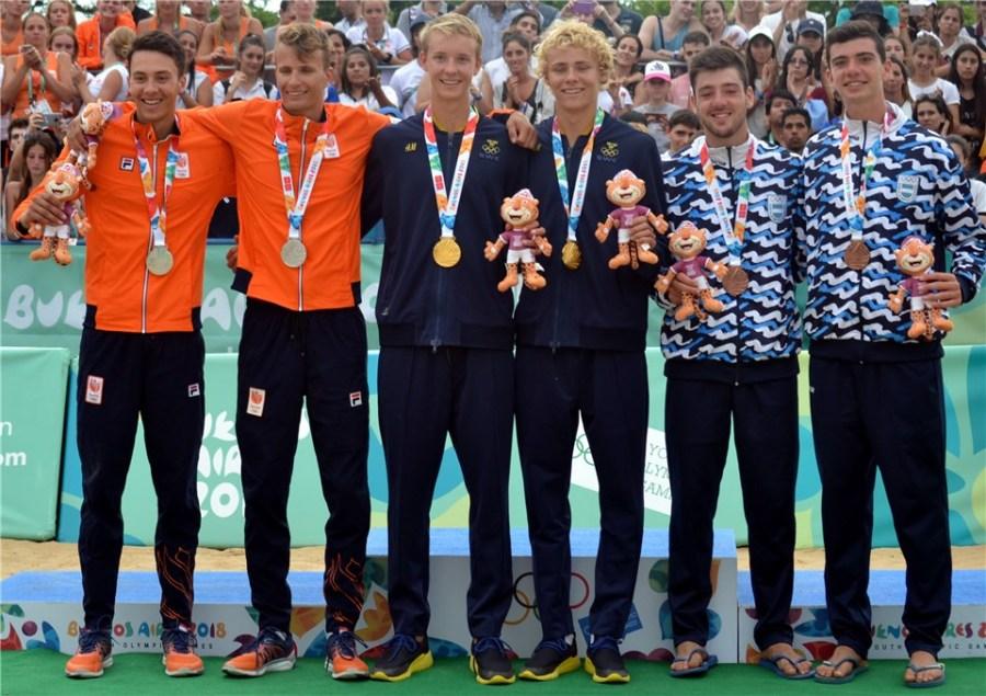 Olympisch zilver voor Yorick en Matthew