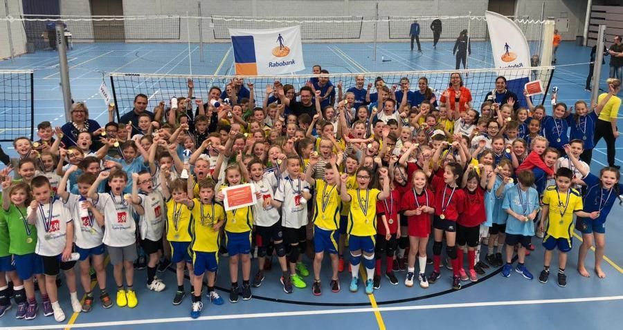 Rabobank Schoolvolleybaltoernooi: één groot feest!