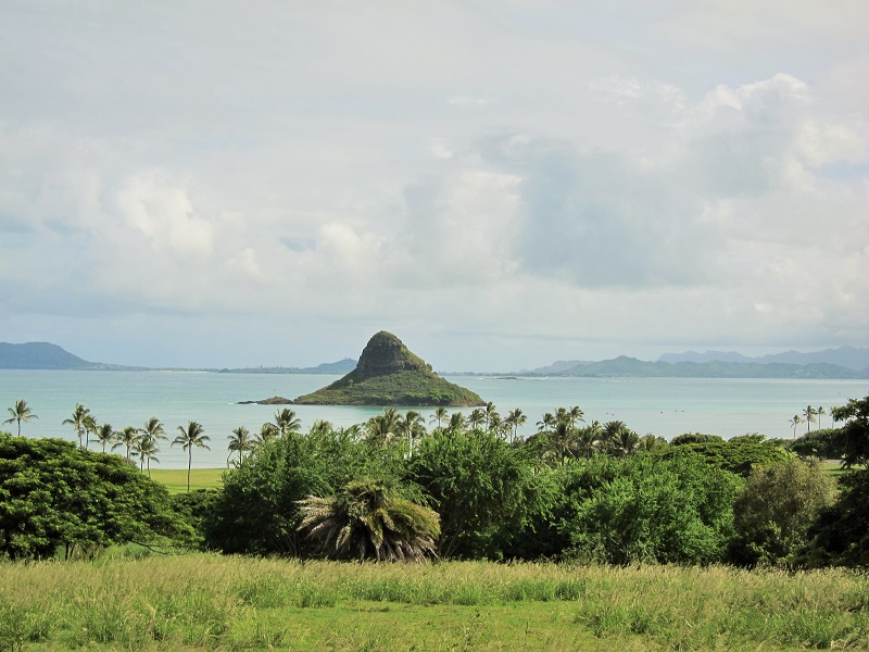 riding by Mokoliʻi Island, more commonly known as Chinaman's Hat