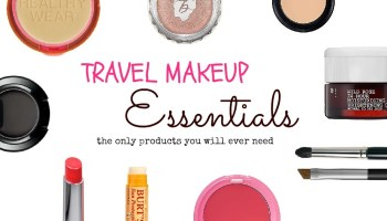 Travel Must Packs Beauty Edition Slightly Astray