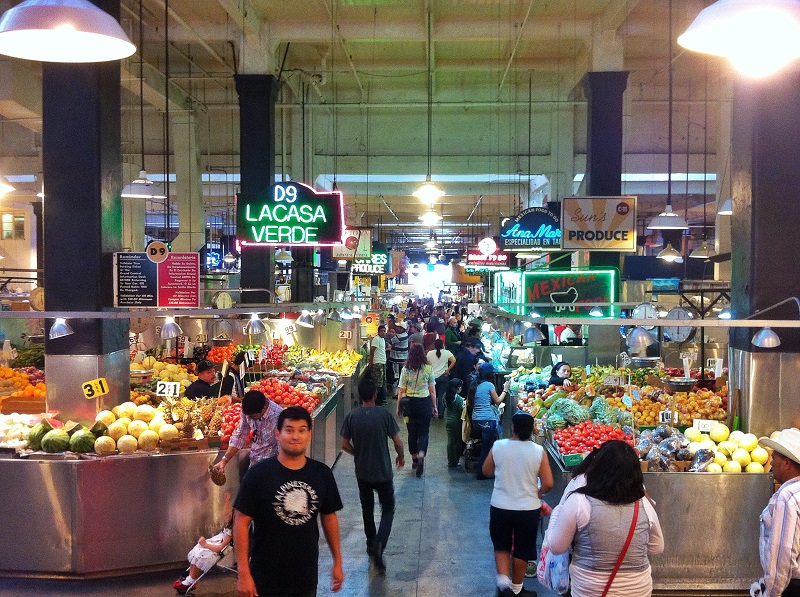 The Grand Central Market is definitely worth visiting if you find yourself in the area. I probably could have spent the whole day in here eating...but I had a train to catch