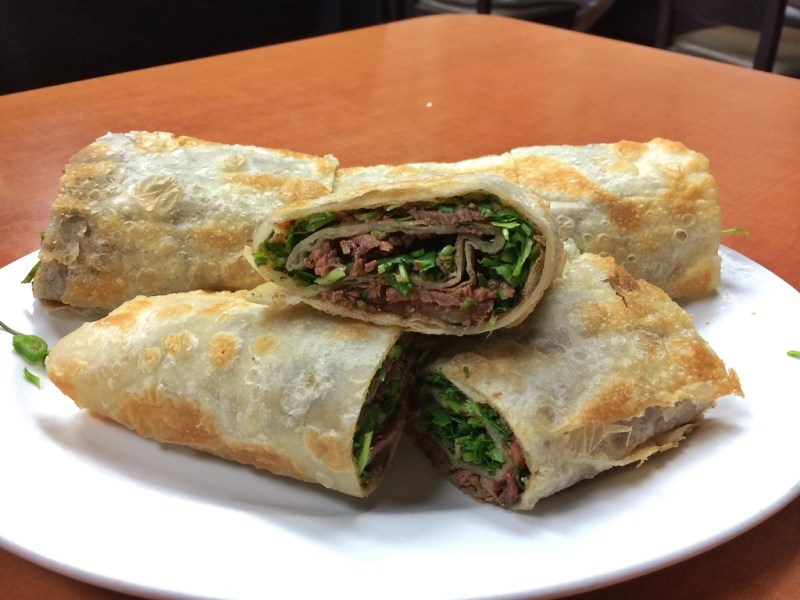 chinese beef rolls
