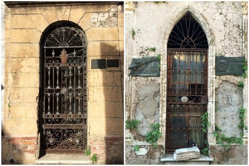 tomb doors