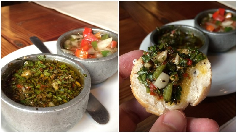 it also makes one of the best fresh chimmichurri I've ever had!