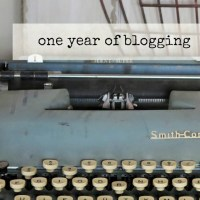 One year of blogging, and why I am NOT a travel blogger
