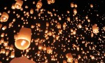 Dreams come true: floating lights in Chiang Mai
