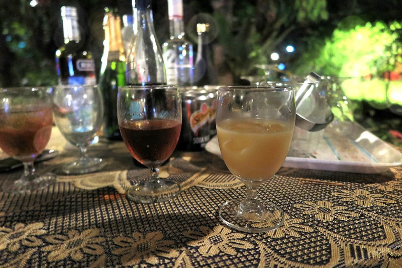 Christmas in Cambodia drinks