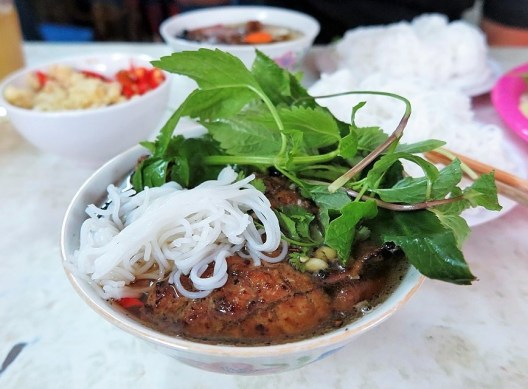 bun cha bowl mixed