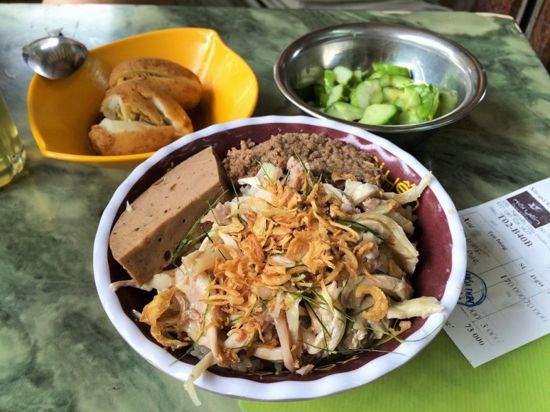 12:30 pm: breakfast/lunch at Xoi yen - 73,000VND or $3.42US