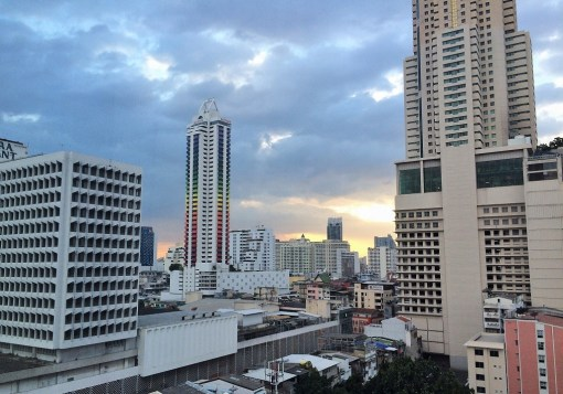 Week 33: Bangkok - view from our high-rise condo