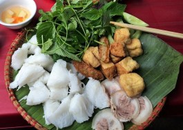 Week 41: Hanoi - we loved discovering new food from Northern Vietnam. Everything is so fresh