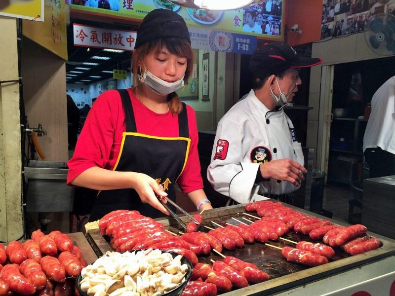 taipei food taiwanese sausage