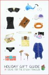 14 gift ideas for the stylish traveler (an illustrated guide)
