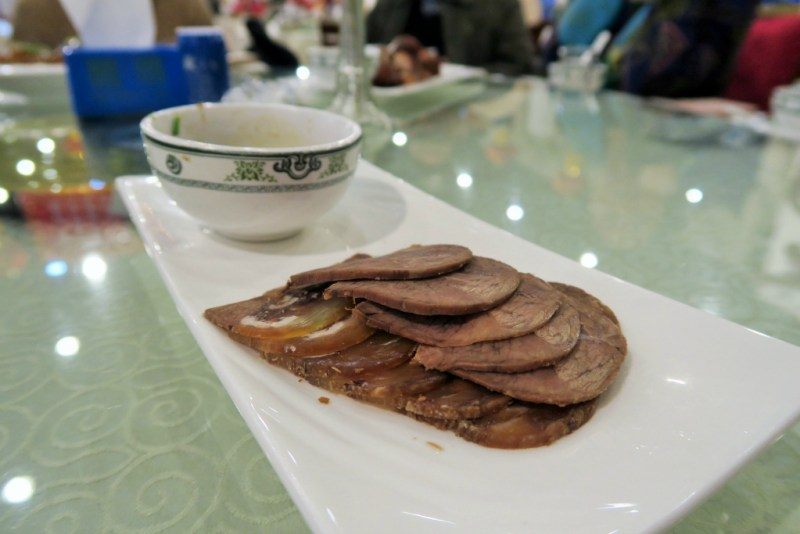 1 CNY sliced beef