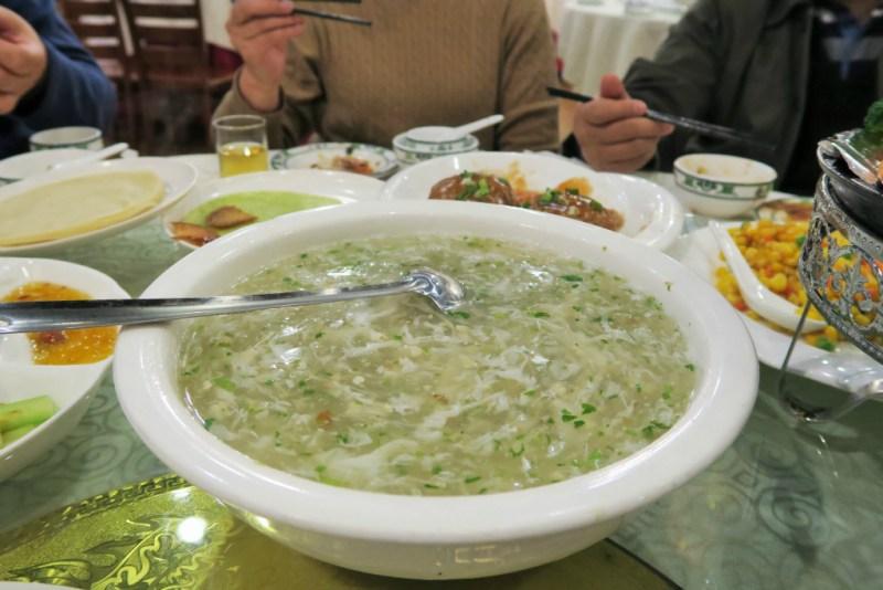 19 CNY egg flower soup