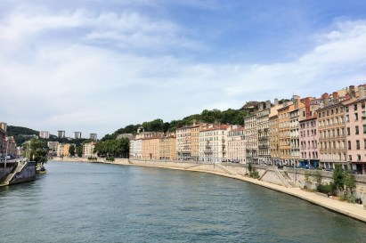 Week 15: Lyon - our building was right on the river