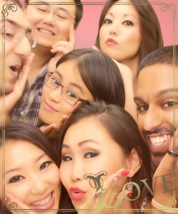 Week 20: Los Angeles - photo booth fun for my friend Claire's birthday!