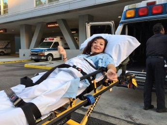 Week 22: Los Angeles - after a long fight, my sister is discharged from the hospital!