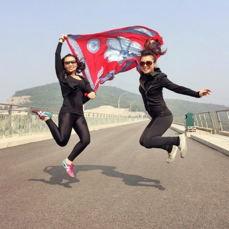 Beijing - on China National Day with my sister
