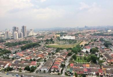 Kuala Lumpur - view of the city
