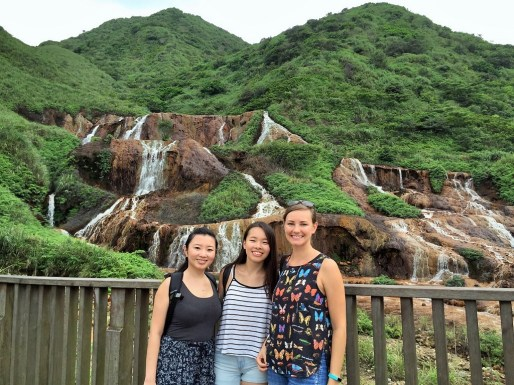 Taipei - Golden Waterfall in Juifen with Jaime and Wanyi
