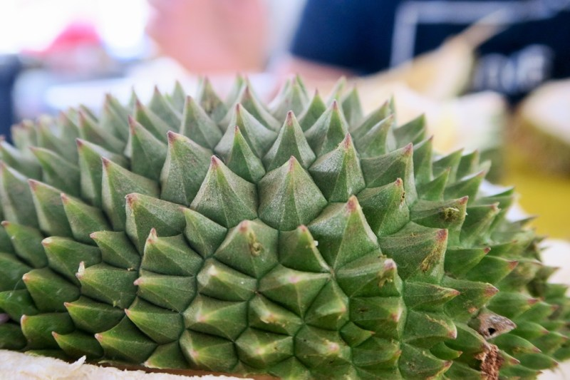Kuala Lumpur] I finally eat durian for the first time | slightly astray