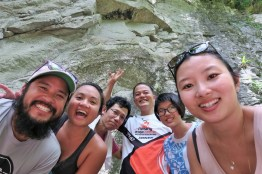Week 4: Penang - rockclimbing in nature!