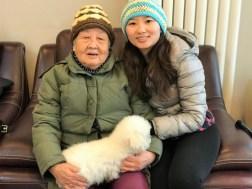 Week 47: Beijing - me and grandma