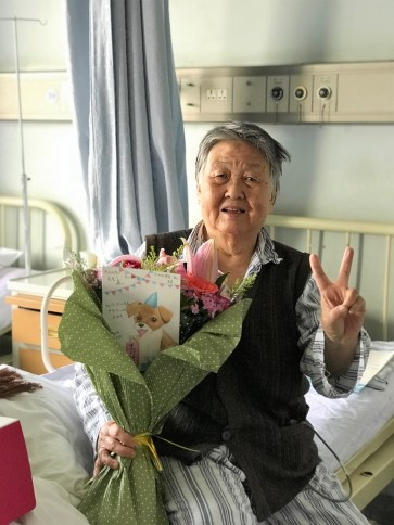 Week 51: Beijing - celebrating my grandma's bday in the hospital