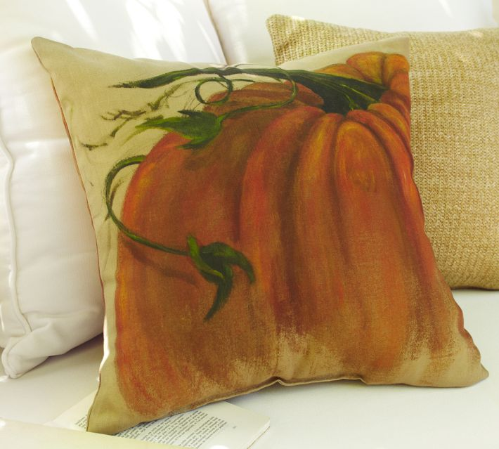 Pottery Barn Inspired Hand Painted Pillows Diy
