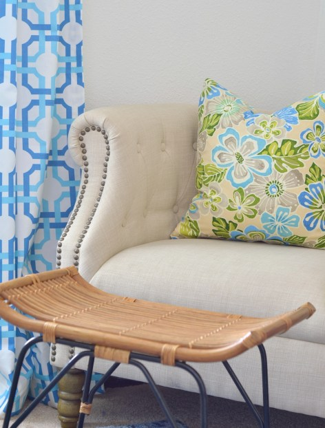 Tropical Palm Beach Inspired Decorating