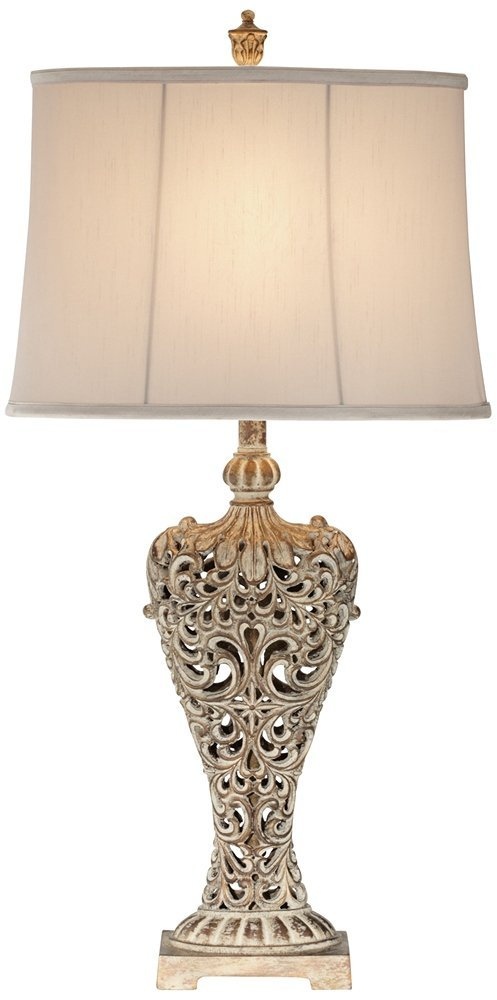 9 french country lamps for every price point slightly coastal carved table lamp mozeypictures Images