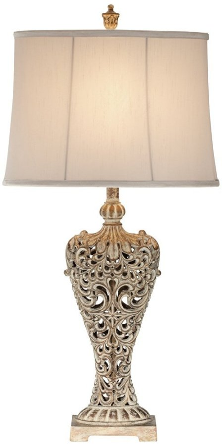 What a glamorous French lamp. This lamp actually has style and the price isn't bad. Cute and affordable lamp? What could be better?