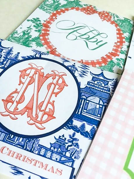 How to create your own custom monogram stationary at home...free tutorial