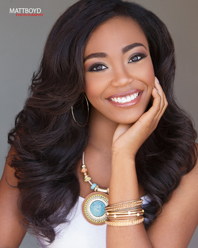 Reigning Miss Georgia's Outstanding Teen, Kelsey Hollis