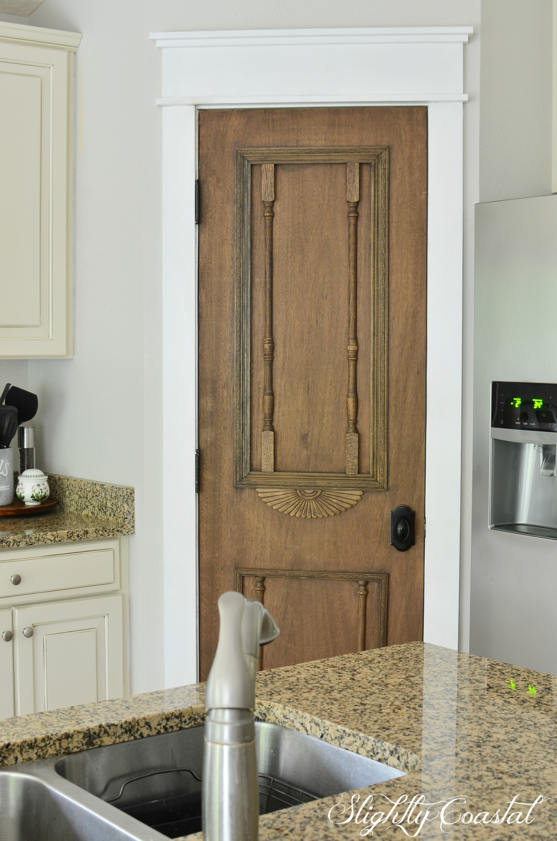 Lovely I Was Able To Take My Brush And Add Variance To The Door To Achieve The Vintage  Look I Was Going For.