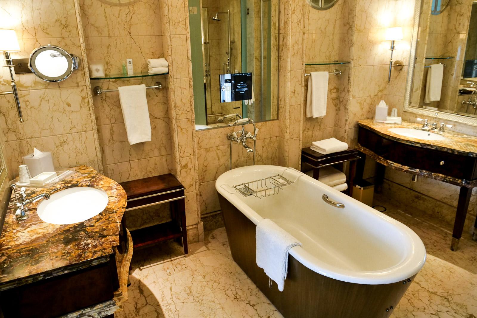 St Regis Singapore Bathroom