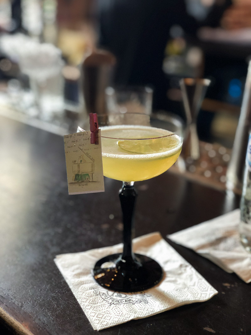 The What If Cocktail at Tales and Spirits.