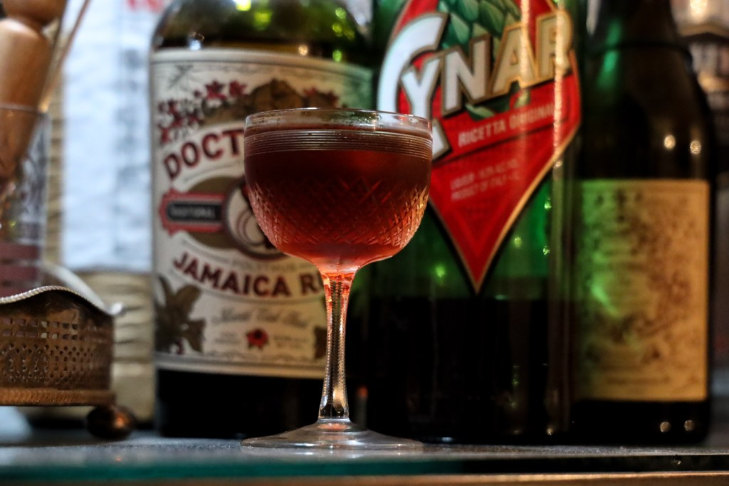 This funky Rum Negroni makes for a very unique cocktail combination.