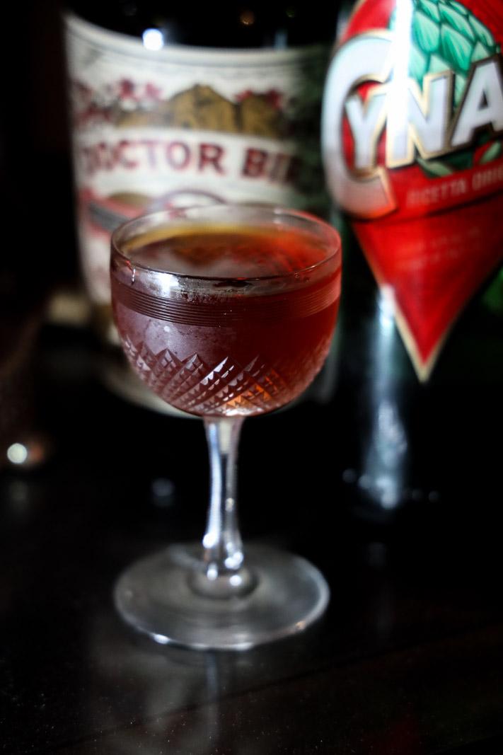 Artsy Bird: A Rum Negroni Variation