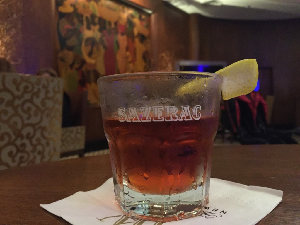 Sazerac Bar at the Roosevelt Hotel in New Orleans.