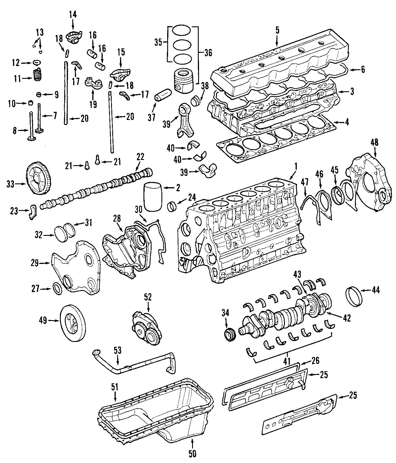 Dodge Ram Engine Timing Cover 5 9 Litersel 24