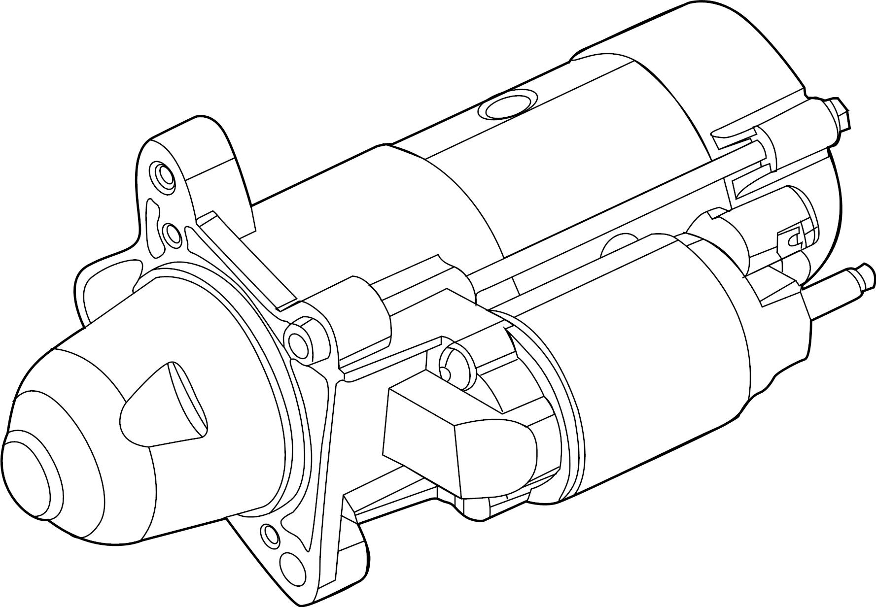 Jeep Cherokee Starter Motor