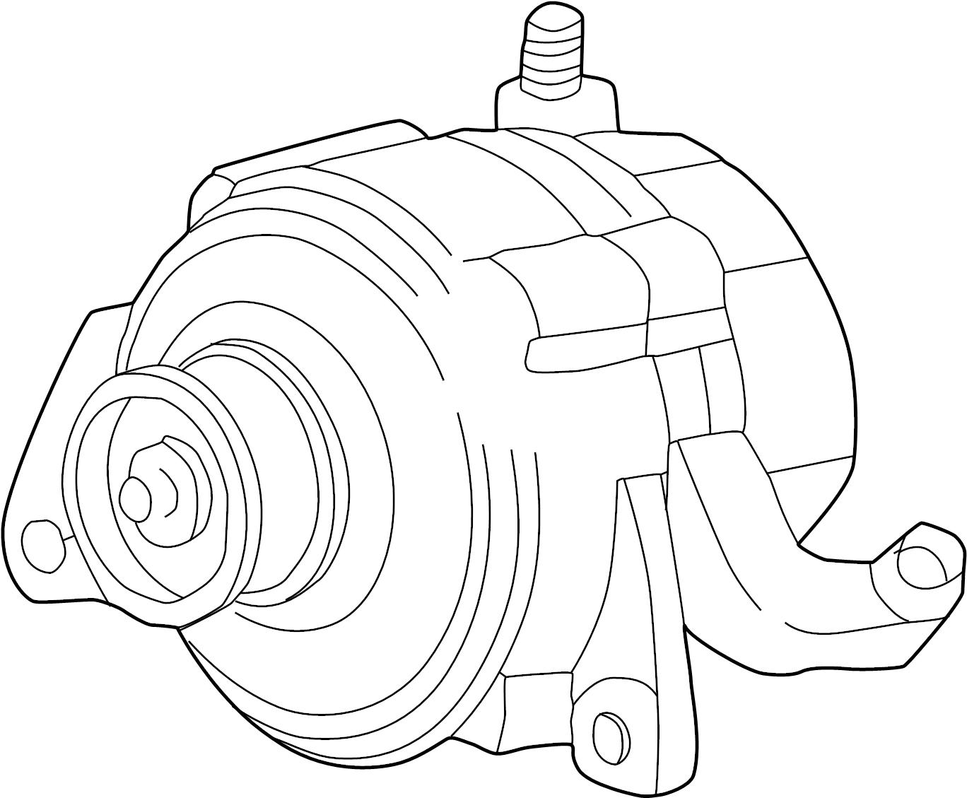 Jeep Grand Cherokee Alternator Liter Amp Battery