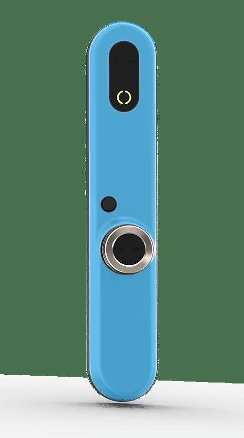 invited smart lock, color blue