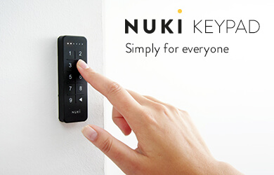 Nuki, pincode, slim deurslot