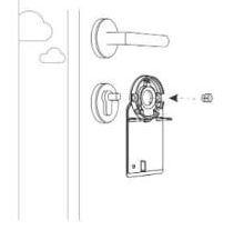 knop adaptor, Nuki, slim deurslot