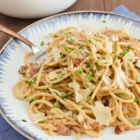 Best Ever Syn Free Spaghetti Carbonara